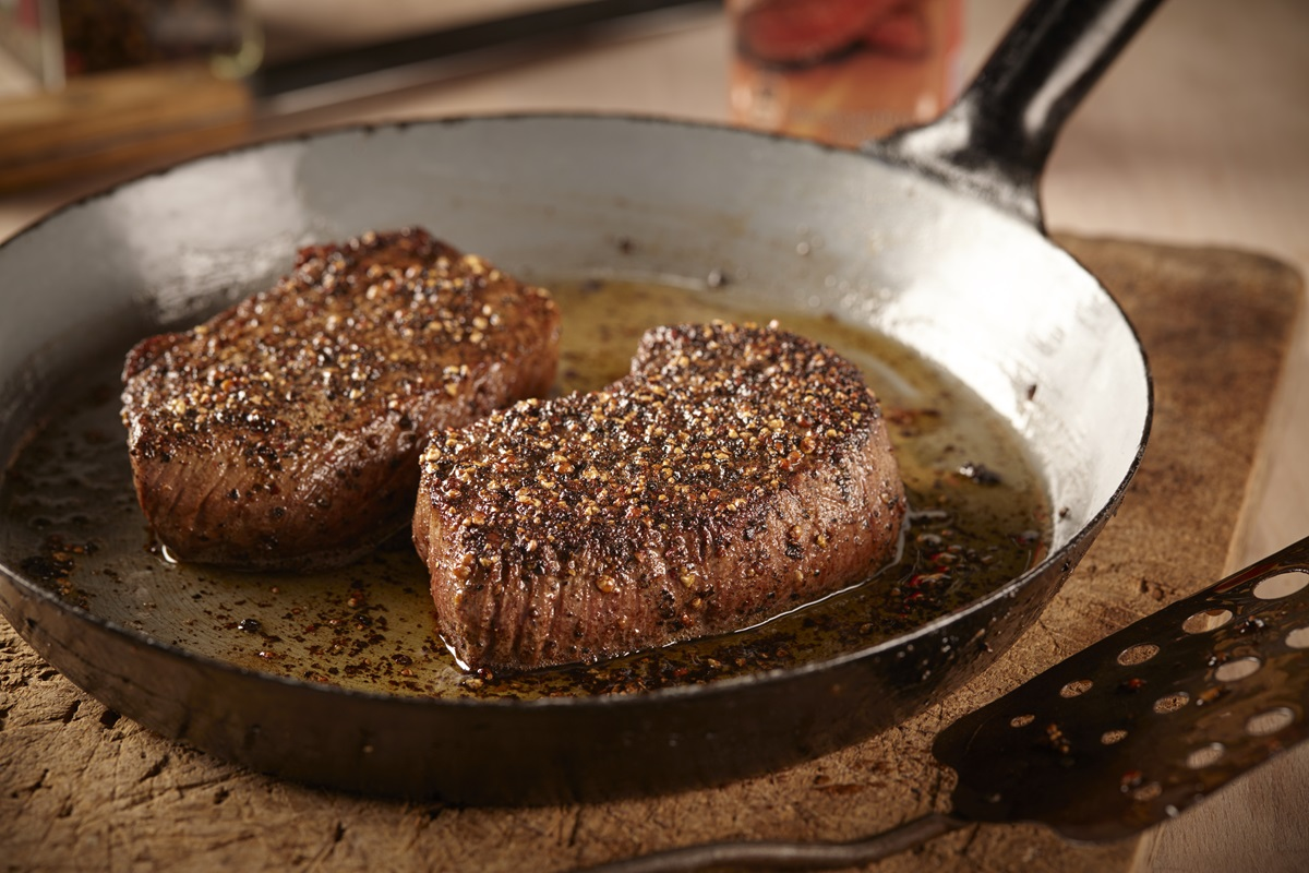 recipe image Pepersteak